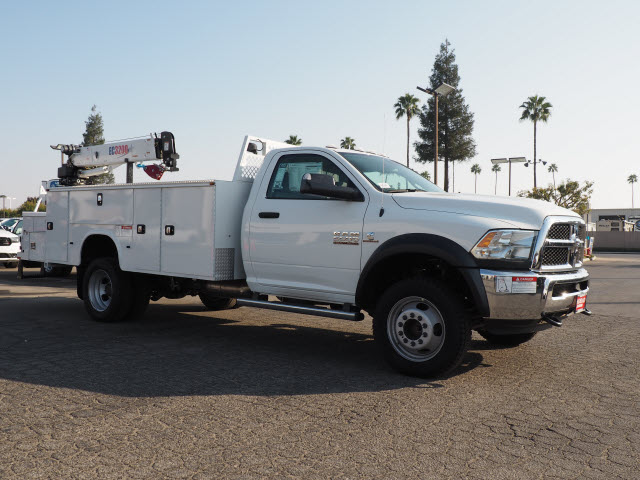 2016 Ram 5500 Regular Cab DRW 4x4, Mechanics Body #B58706 - photo 5