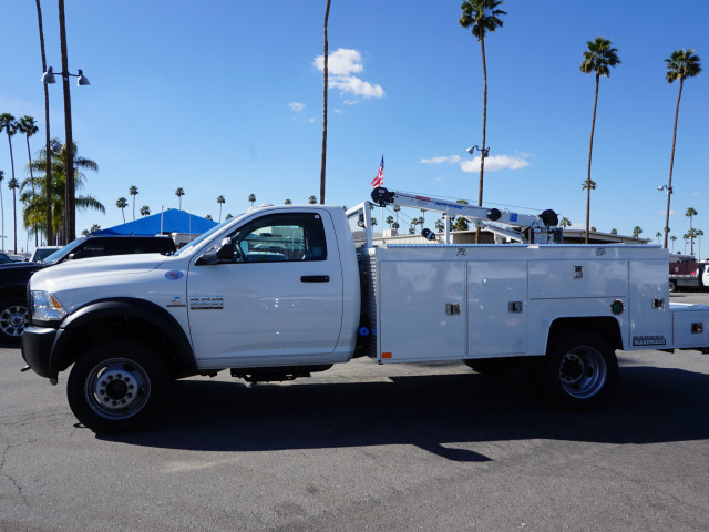 2017 Ram 5500 Regular Cab DRW 4x4, Douglass Mechanics Body #B59004 - photo 11
