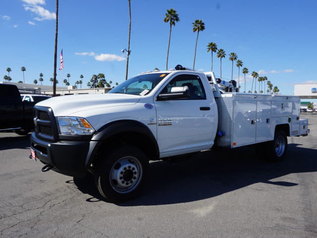 2017 Ram 5500 Regular Cab DRW 4x4, Douglass Mechanics Body #B59004 - photo 12