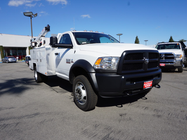 2017 Ram 5500 Regular Cab DRW 4x4, Douglass Mechanics Body #B59004 - photo 4