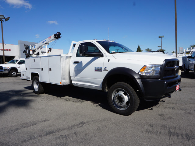 2017 Ram 5500 Regular Cab DRW 4x4, Douglass Mechanics Body #B59004 - photo 5