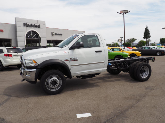 2017 Ram 5500 Regular Cab DRW 4x4 Cab Chassis #B59383 - photo 12