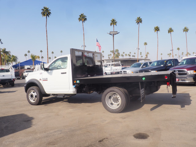 2017 Ram 5500 Regular Cab DRW 4x4 Platform Body #B59397 - photo 10