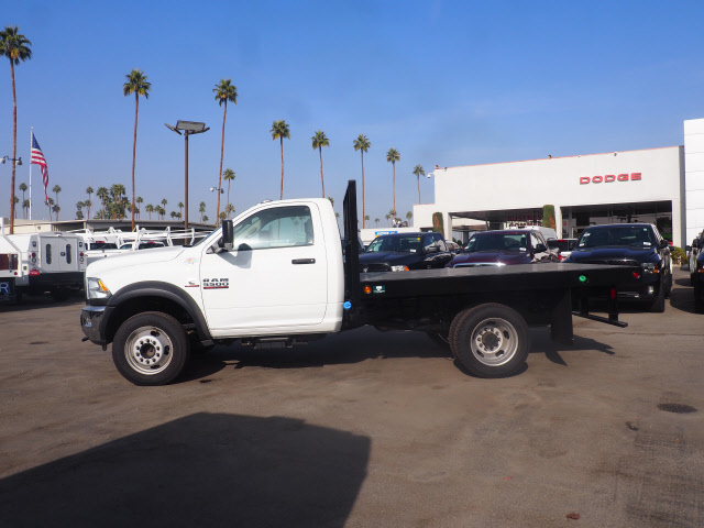 2017 Ram 5500 Regular Cab DRW 4x4 Platform Body #B59397 - photo 11