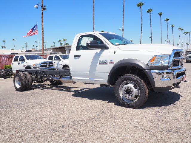 2017 Ram 4500 Regular Cab DRW 4x4, Cab Chassis #B59459 - photo 5