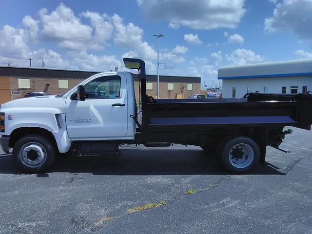 2021 Silverado 6500 Regular Cab DRW 4x2,  Knapheide Drop Side Dump Body #210902 - photo 5