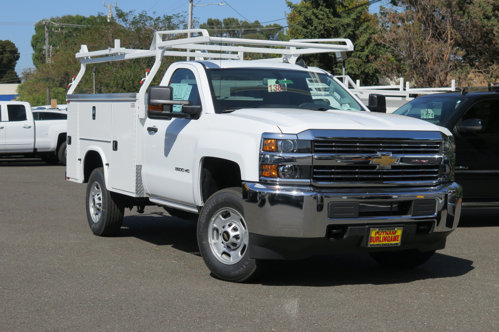 Truck chevy 2500hd trucks : New 2018 Chevrolet Silverado 2500 Regular Cab, Service Body | For ...