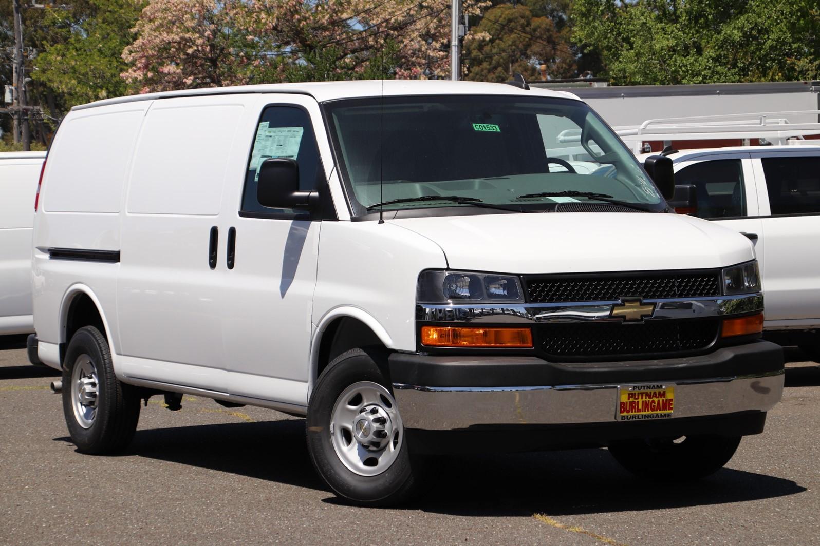 2019 Express 2500 4x2,  Sortimo Shelf Staxx Upfitted Cargo Van #C01533 - photo 1