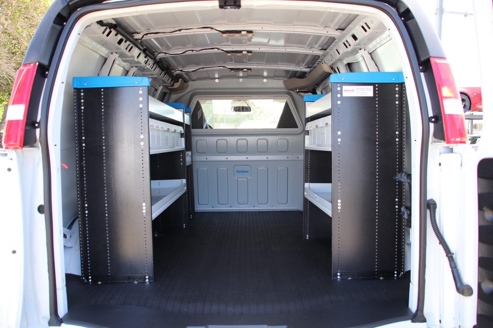2019 Express 2500 4x2,  Sortimo Shelf Staxx Upfitted Cargo Van #C01533 - photo 2
