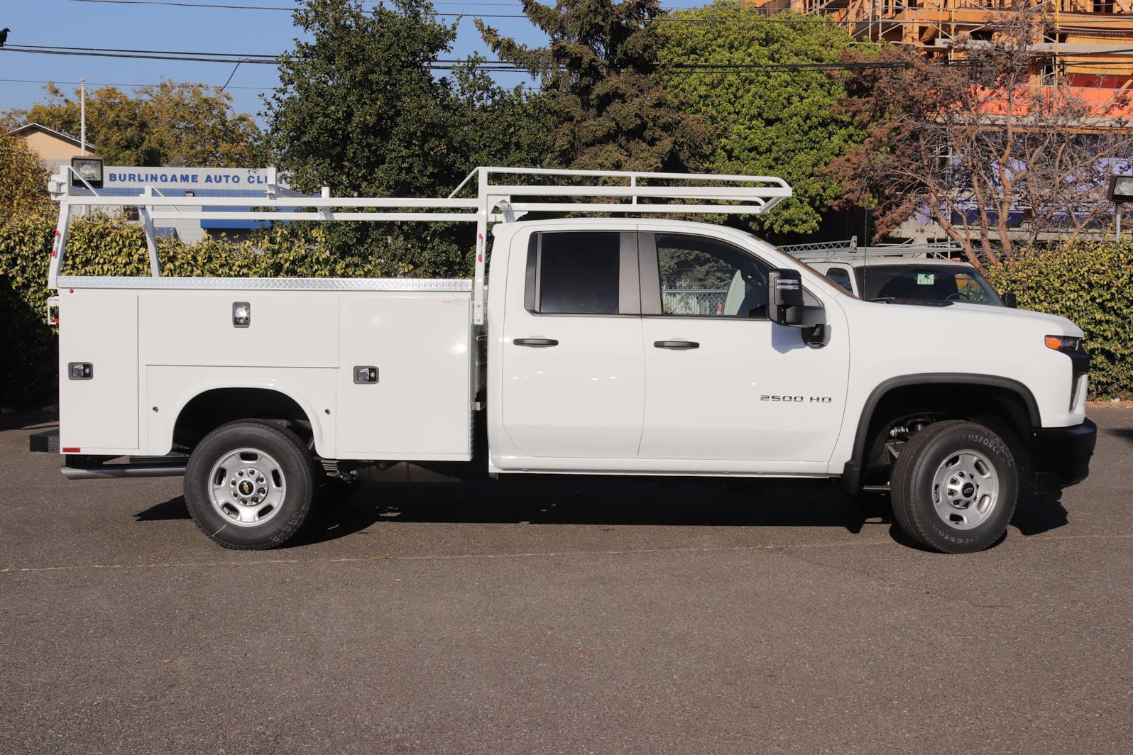 2021 Silverado 2500 Double Cab 4x2,  Knapheide Steel Service Body #C02613 - photo 5