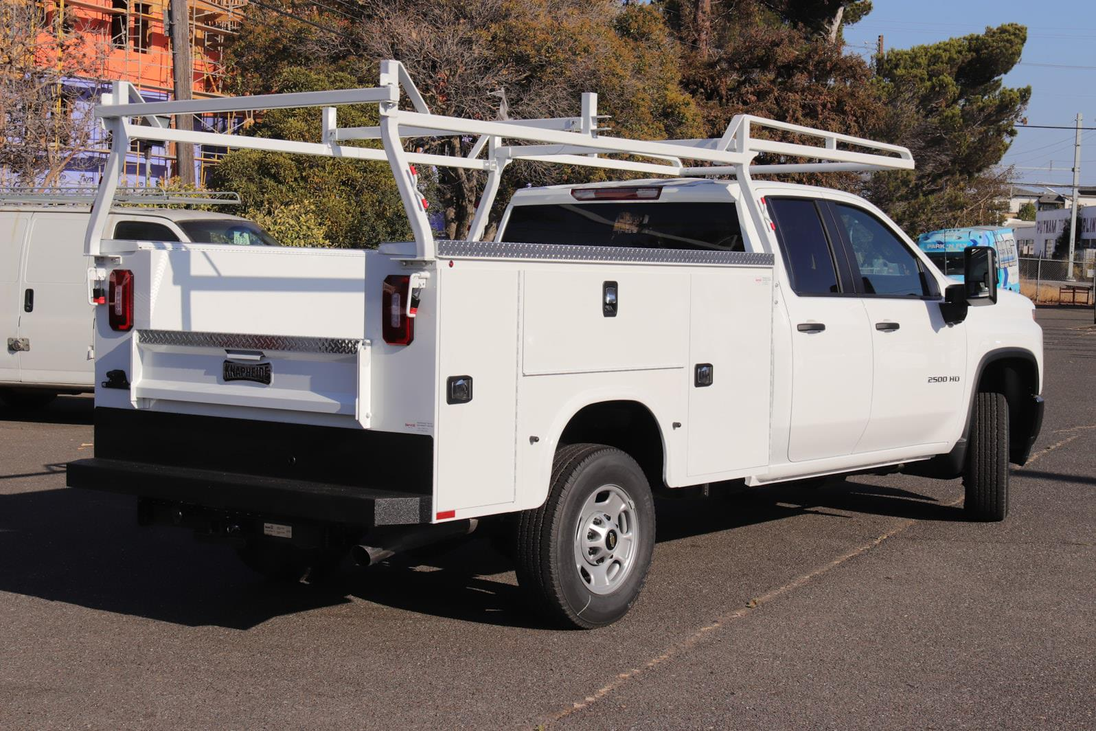2021 Silverado 2500 Double Cab 4x2,  Knapheide Steel Service Body #C02613 - photo 2