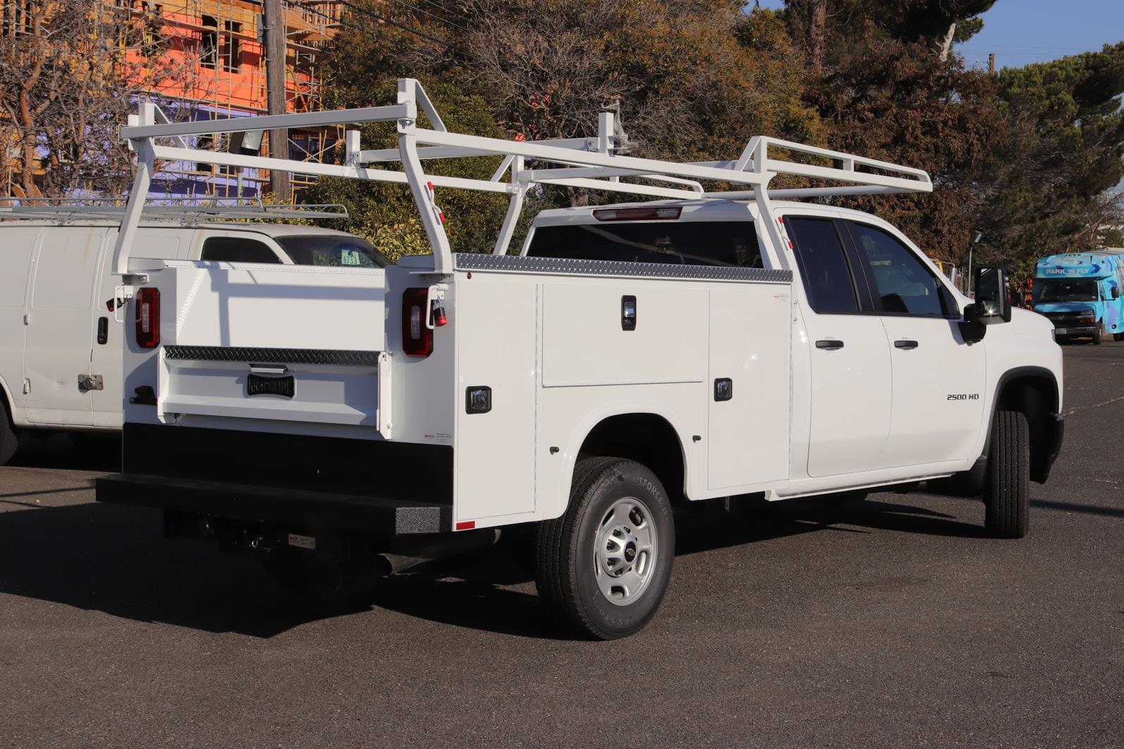 2021 Silverado 2500 Double Cab 4x2,  Knapheide Steel Service Body #C02621 - photo 2