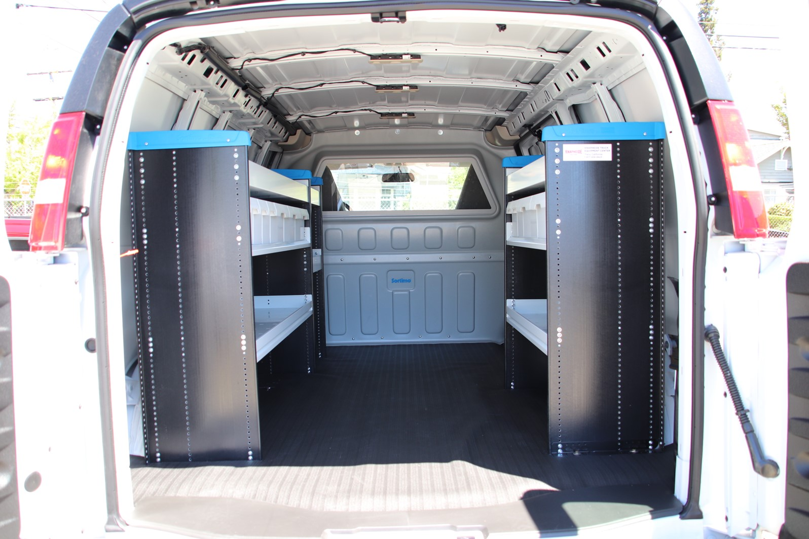 2019 GMC Savana 2500 4x2, Sortimo Upfitted Cargo Van #G00783 - photo 1