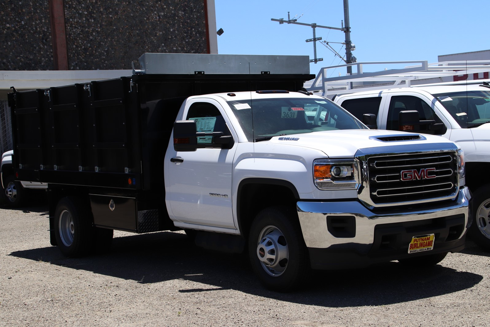 2019 Sierra 3500 Regular Cab DRW 4x2, Royal Landscape Dump #G00799 - photo 1