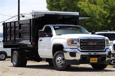 2019 Sierra 3500 Regular Cab DRW 4x2,  Knapheide Landscape Dump #G00800 - photo 1