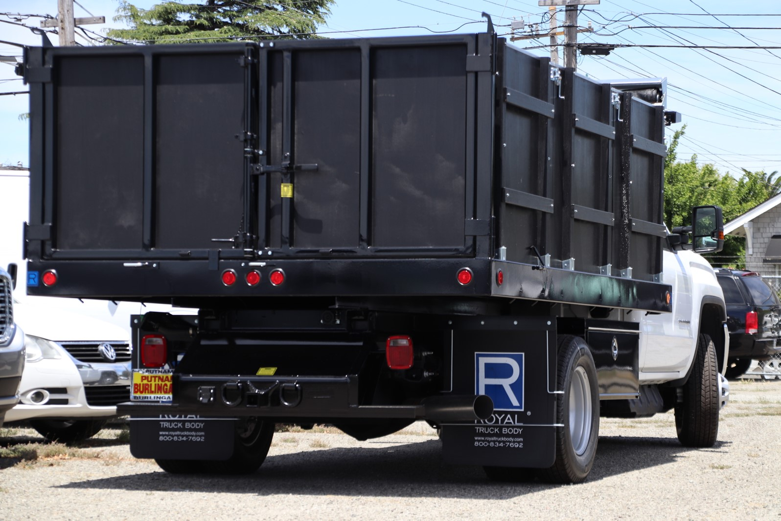 2019 Sierra 3500 Regular Cab DRW 4x2, Royal Landscape Dump #G00802 - photo 2