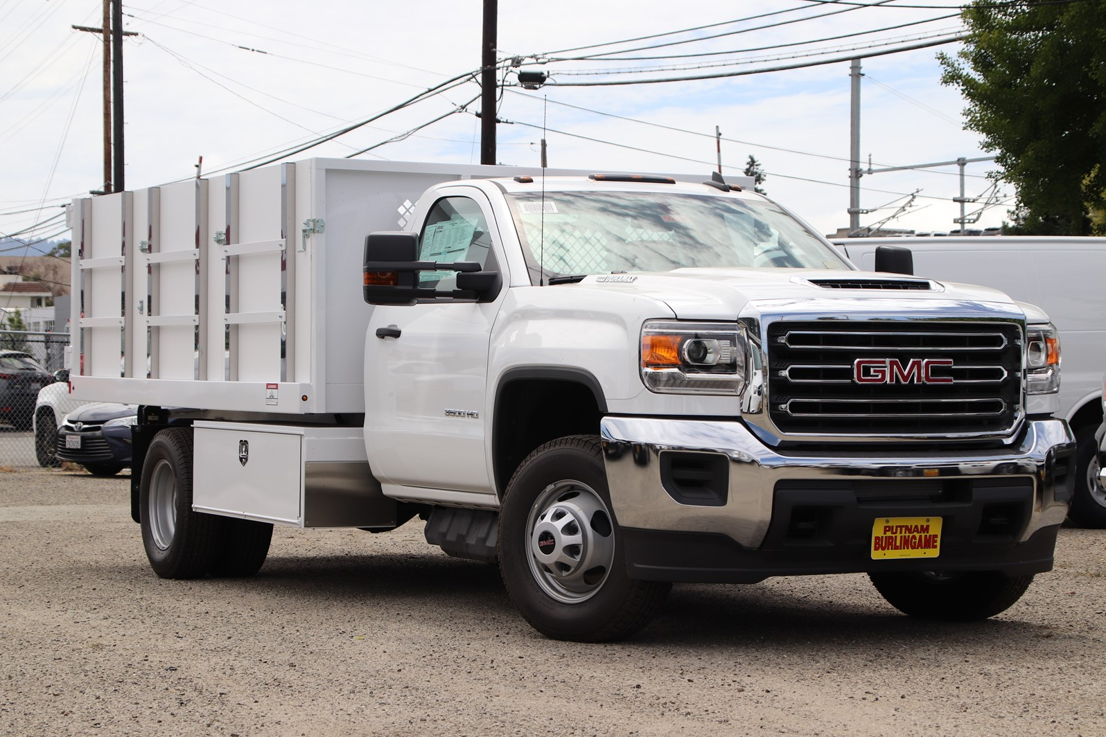 2019 Sierra 3500 Regular Cab DRW 4x2, Harbor Master Landscape Dump #G00804 - photo 1