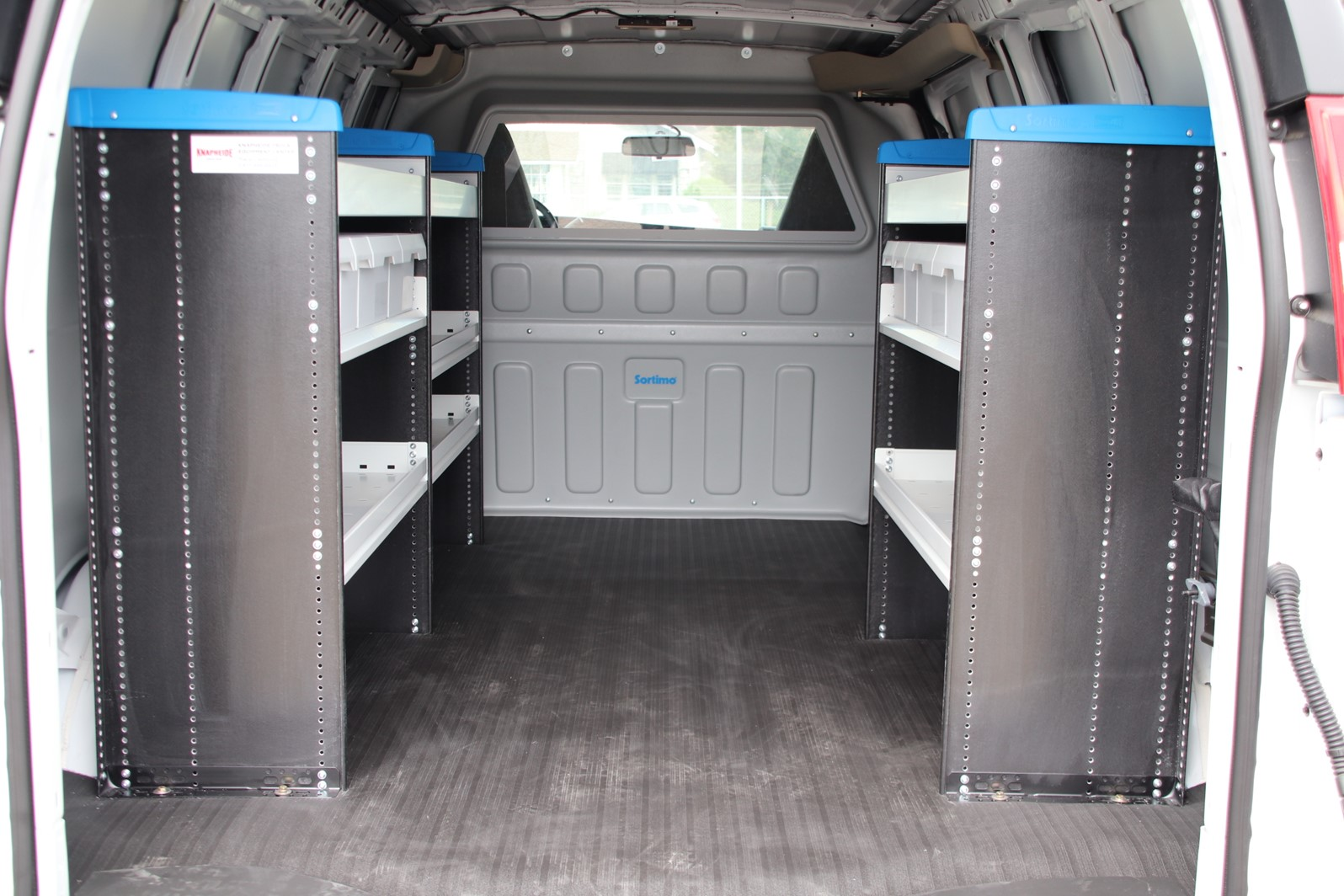 2019 Savana 2500 4x2,  Sortimo Upfitted Cargo Van #G00808 - photo 1