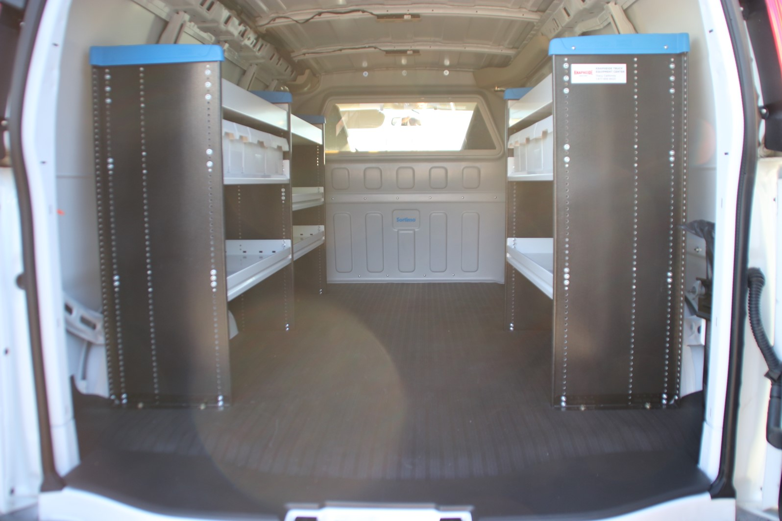 2019 GMC Savana 2500 4x2, Sortimo Upfitted Cargo Van #G00946 - photo 1