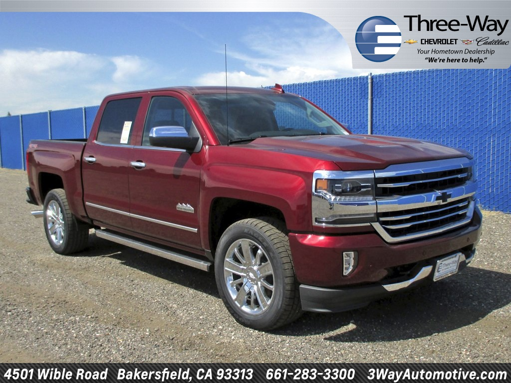 2017 Silverado 1500 Crew Cab 4x4 Pickup #902143K - photo 1