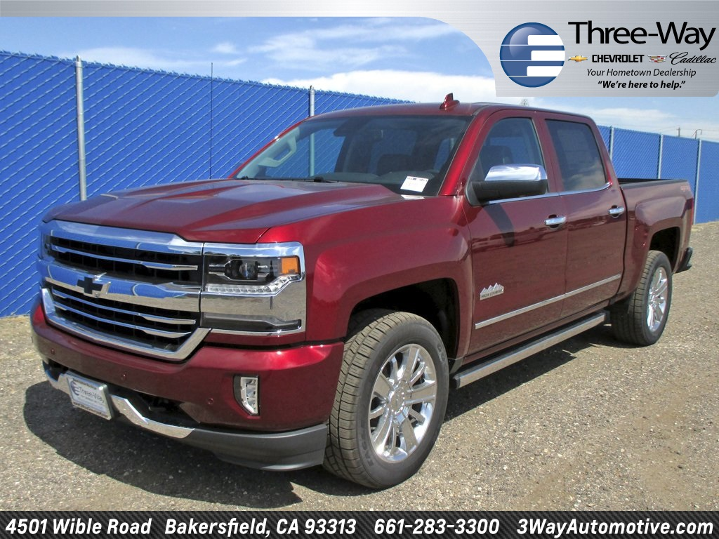 2017 Silverado 1500 Crew Cab 4x4 Pickup #902143K - photo 3