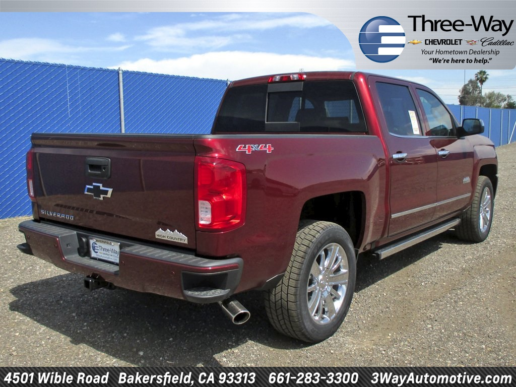 2017 Silverado 1500 Crew Cab 4x4 Pickup #902143K - photo 2