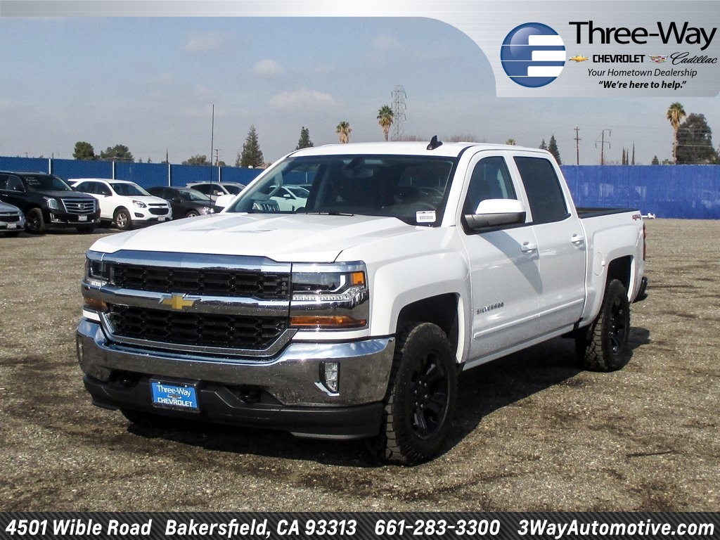 2018 Silverado 1500 Crew Cab 4x4 Pickup #904512K - photo 3