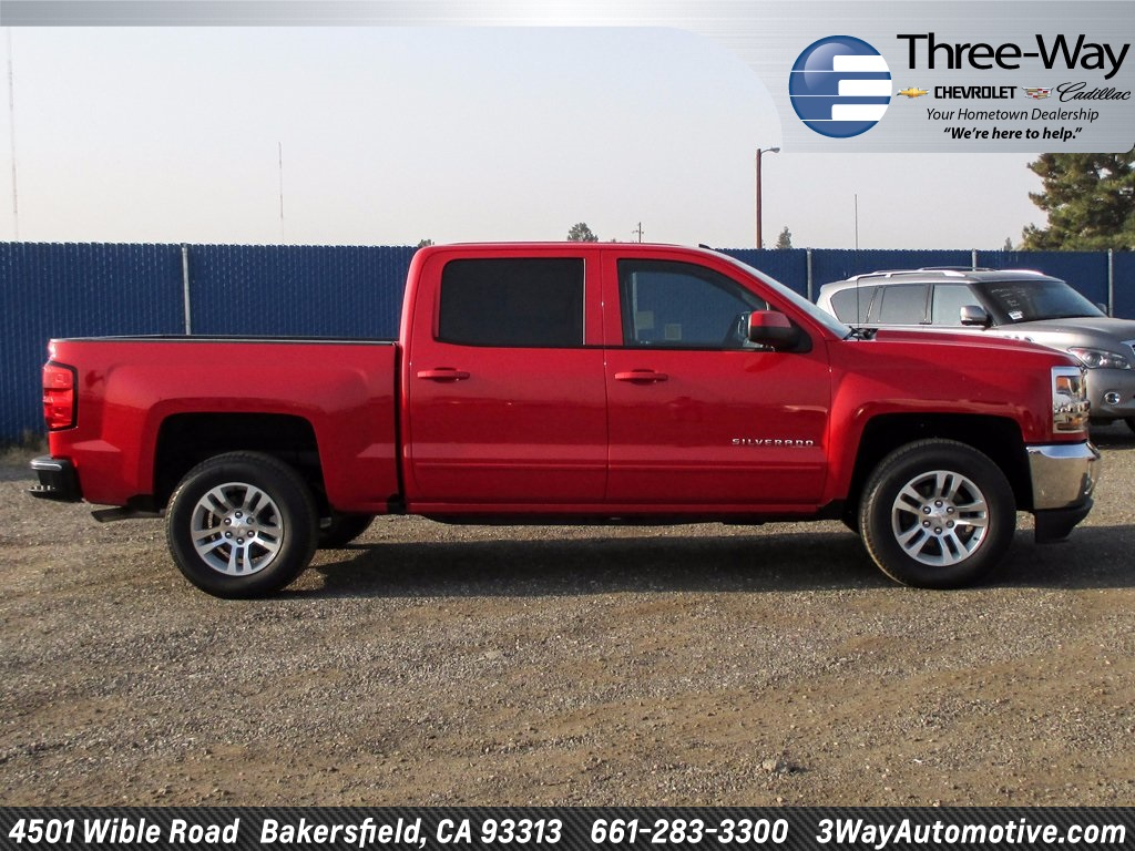 2018 Silverado 1500 Crew Cab Pickup #904528K - photo 5