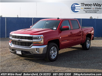 2018 Silverado 1500 Crew Cab Pickup #904528K - photo 3