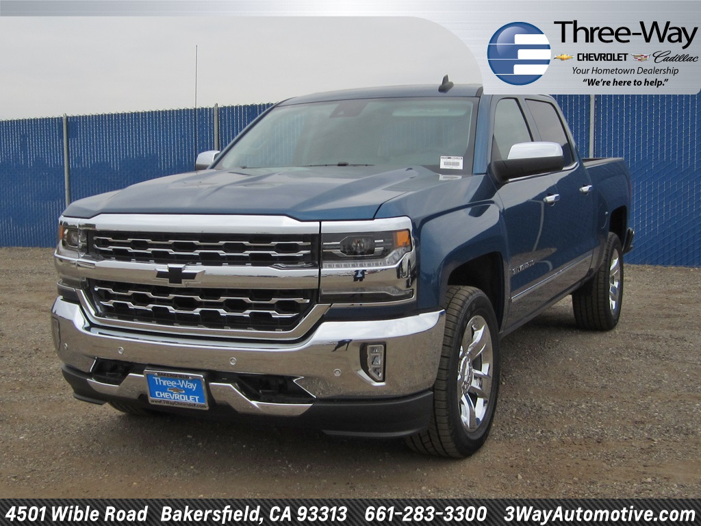 2018 Silverado 1500 Crew Cab Pickup #904539K - photo 3