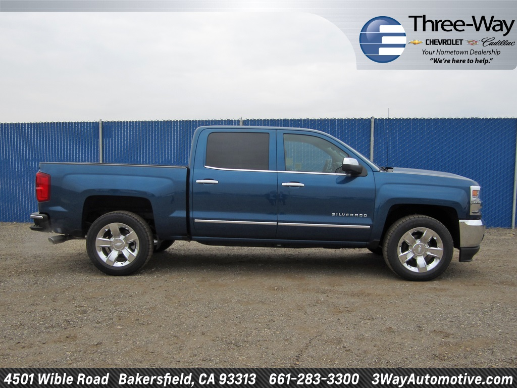 2018 Silverado 1500 Crew Cab Pickup #904539K - photo 5