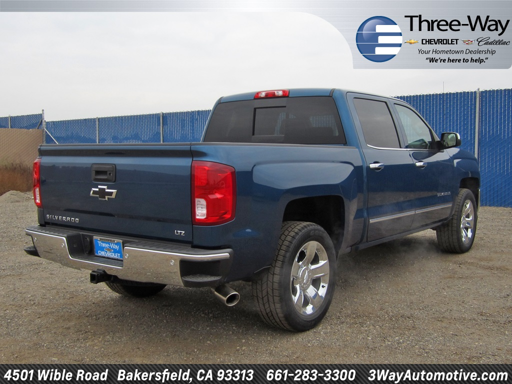 2018 Silverado 1500 Crew Cab Pickup #904539K - photo 2