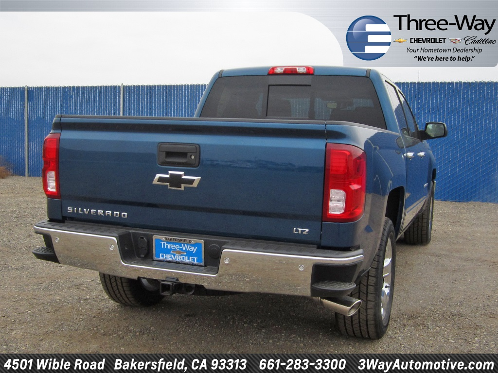 2018 Silverado 1500 Crew Cab Pickup #904539K - photo 6