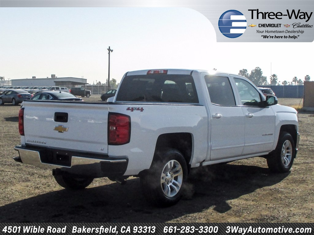 2018 Silverado 1500 Crew Cab 4x4, Pickup #905243K - photo 2