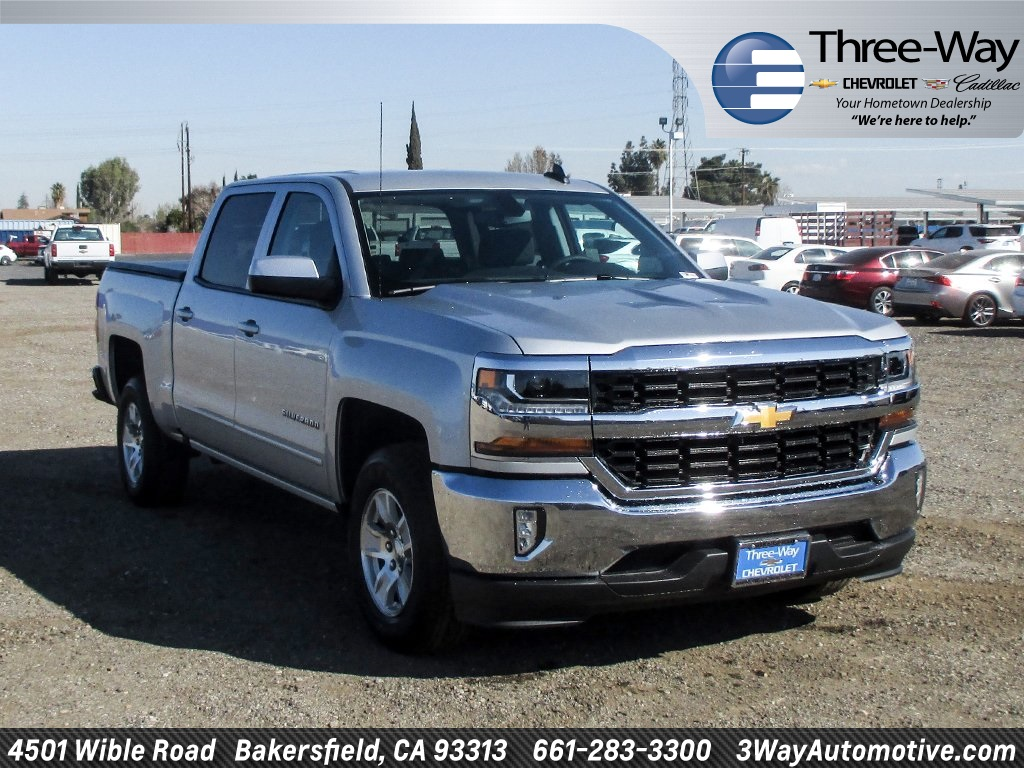 2018 Silverado 1500 Crew Cab, Pickup #905671K - photo 1