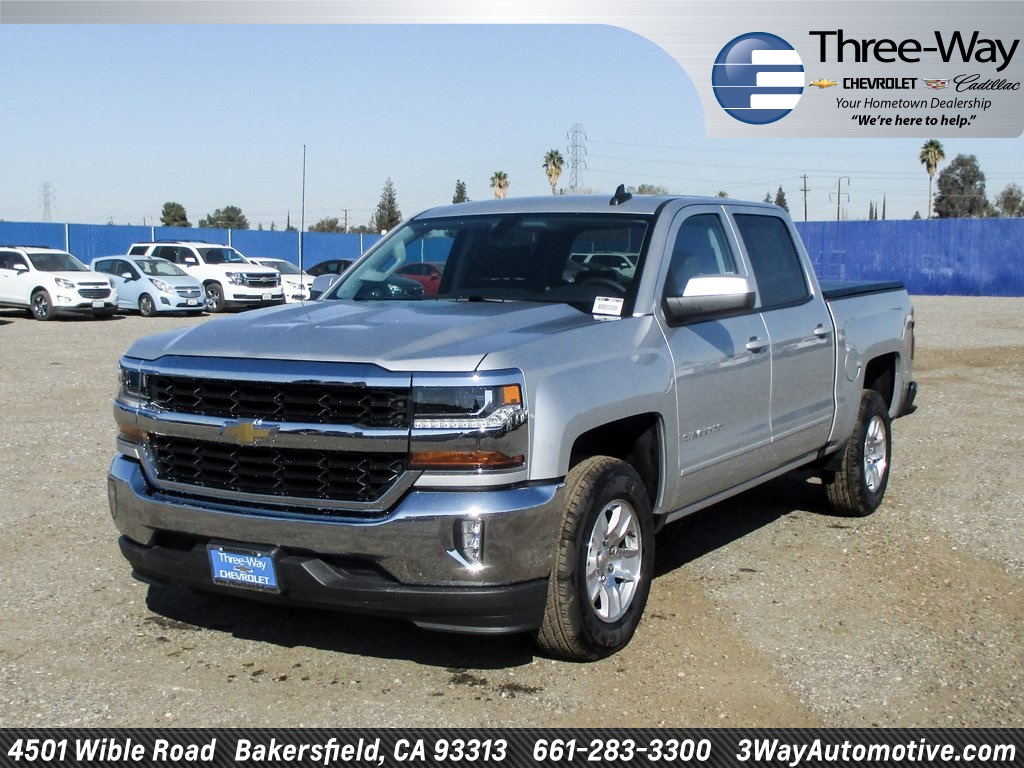 2018 Silverado 1500 Crew Cab, Pickup #905671K - photo 3