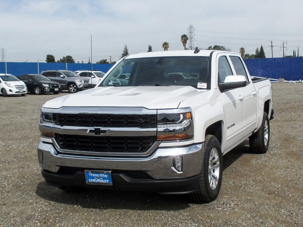 2018 Silverado 1500 Crew Cab, Pickup #906204K - photo 3