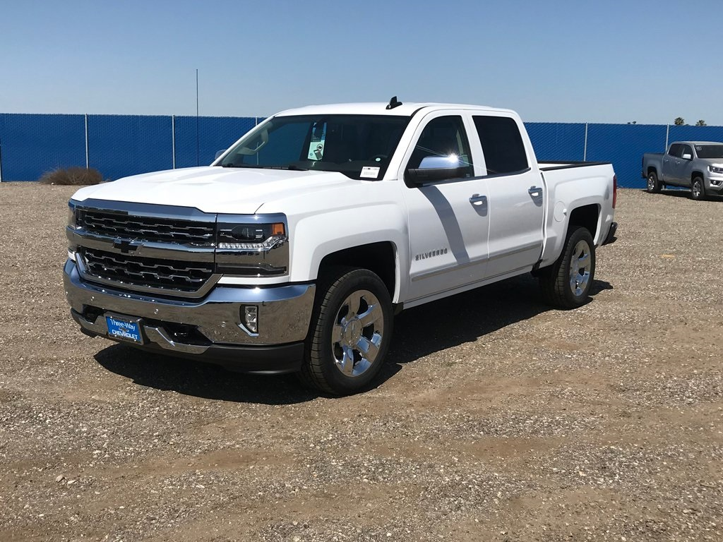 2018 Silverado 1500 Crew Cab, Pickup #906513K - photo 3