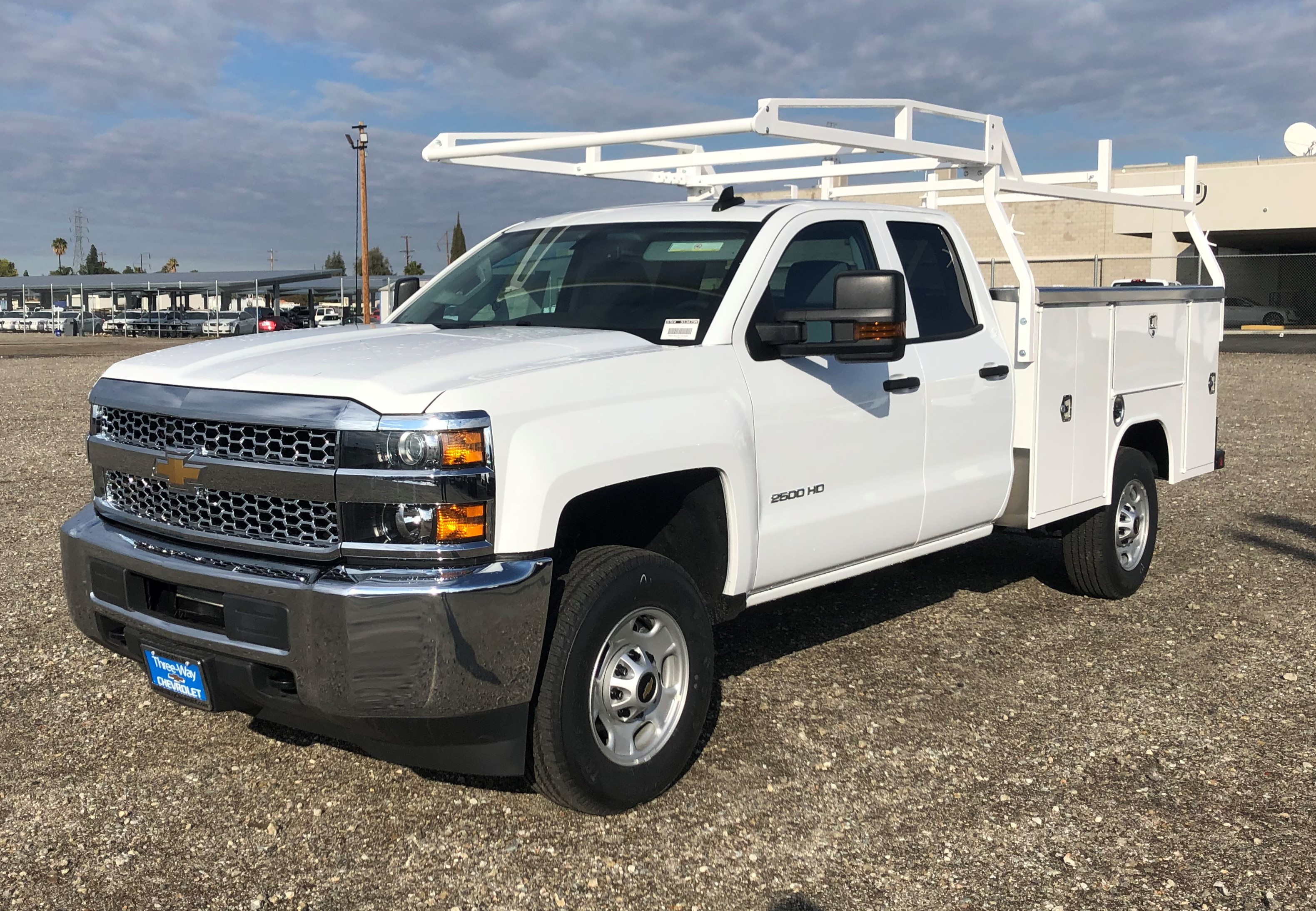 2019 Chevrolet Silverado 2500 Double Cab 4x2, Harbor Service Body #0913544M - photo 1