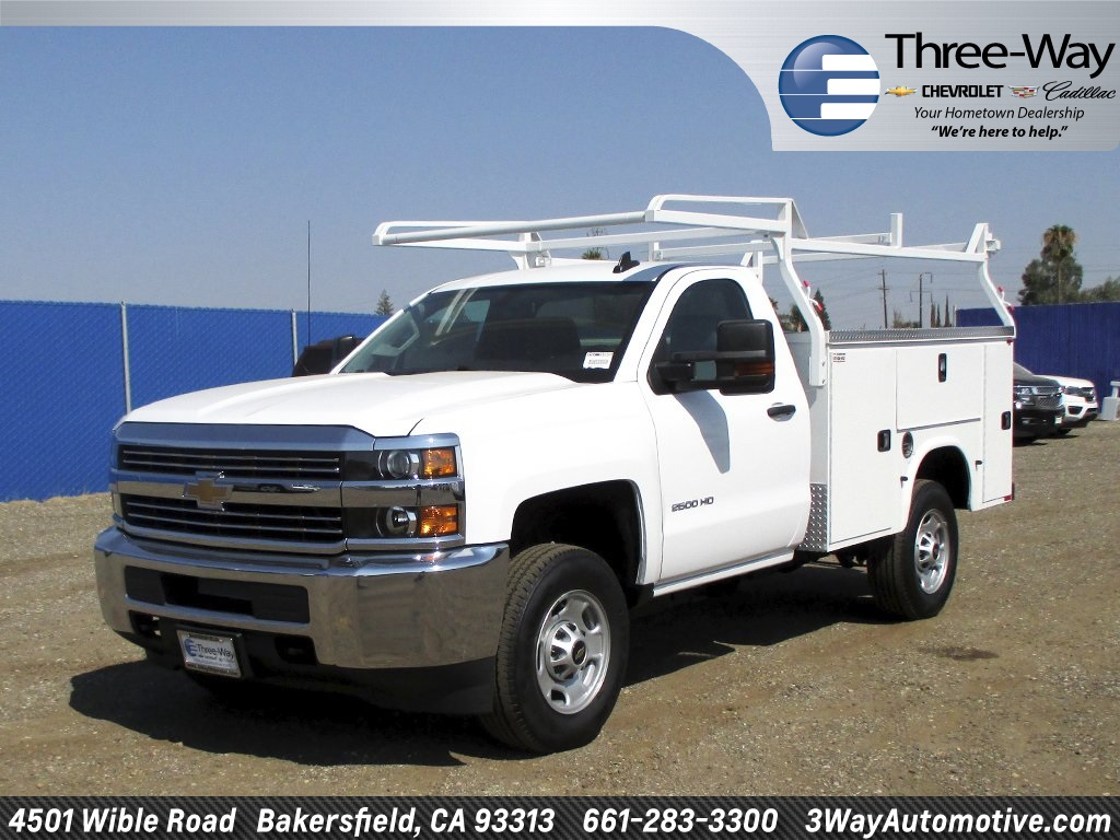 2017 Silverado 2500 Regular Cab, Service Body #914045K - photo 3