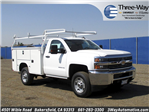 2017 Silverado 2500 Regular Cab, Service Body #914045K - photo 1