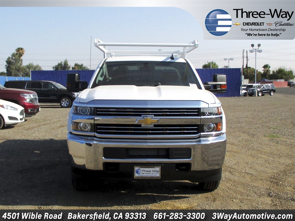 2017 Silverado 2500 Double Cab, Service Body #914342K - photo 4