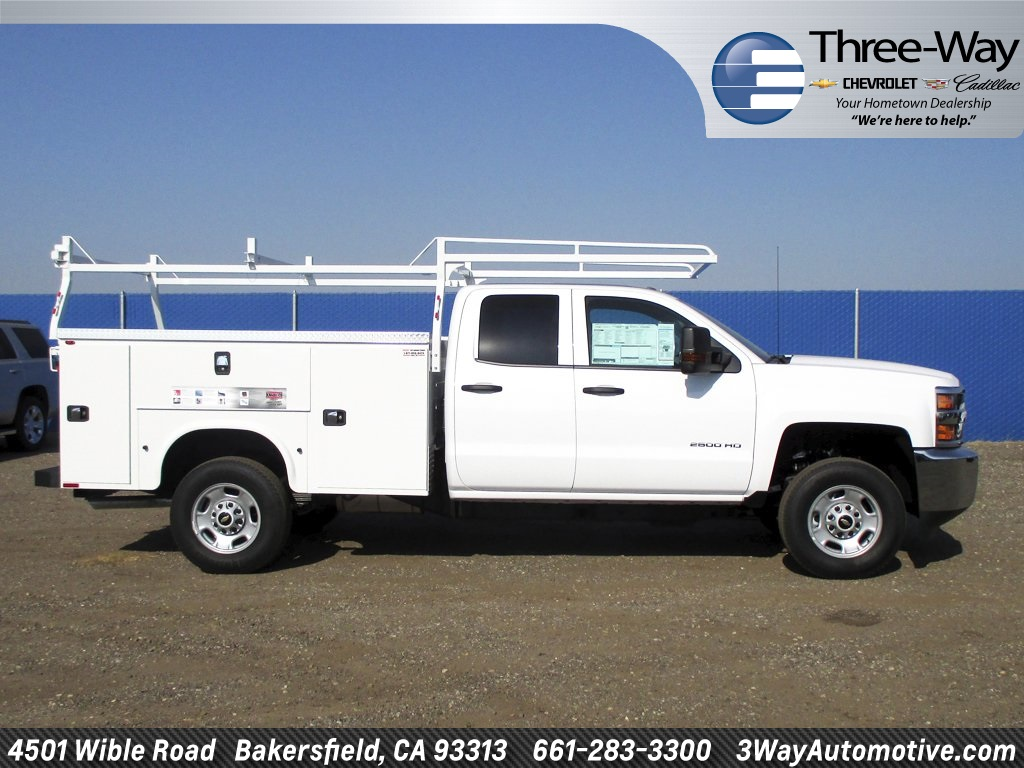 2017 Silverado 2500 Double Cab, Service Body #914342K - photo 5