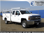 2017 Silverado 2500 Double Cab, Service Body #914342K - photo 1