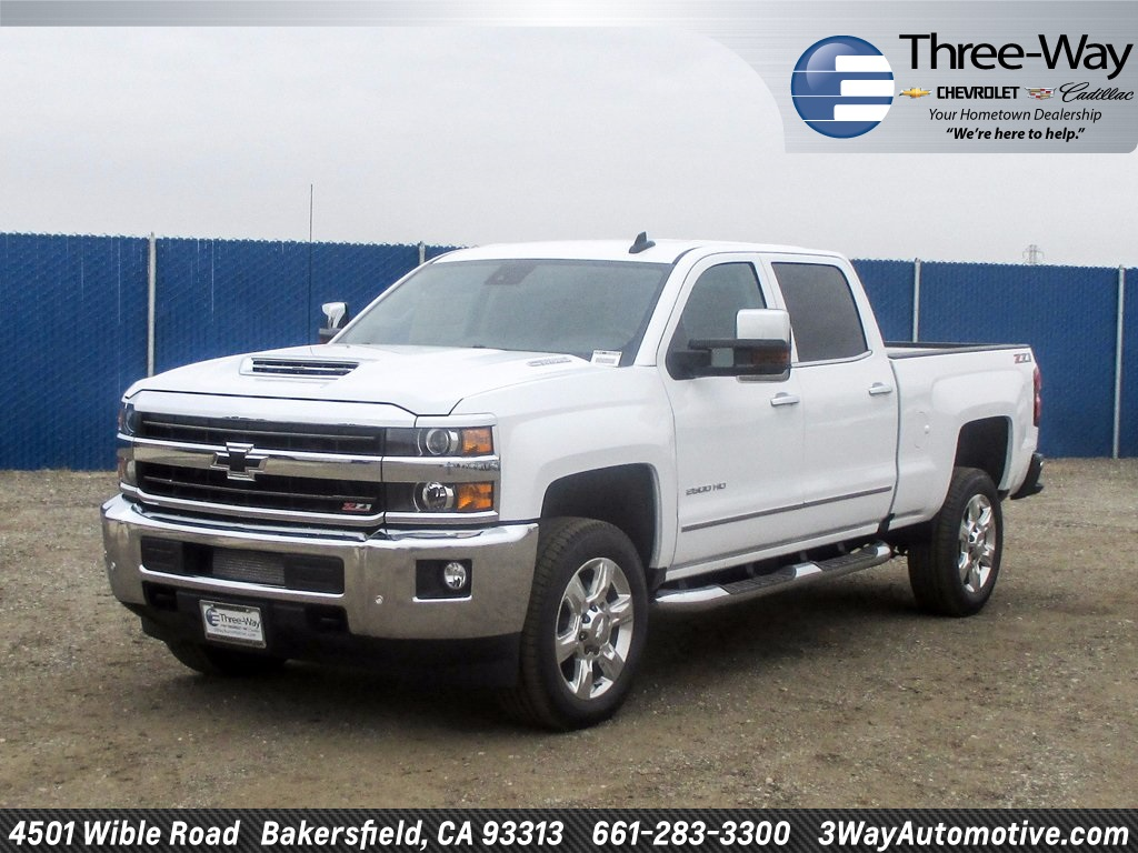 2018 Silverado 2500 Crew Cab 4x4 Pickup #914598K - photo 3