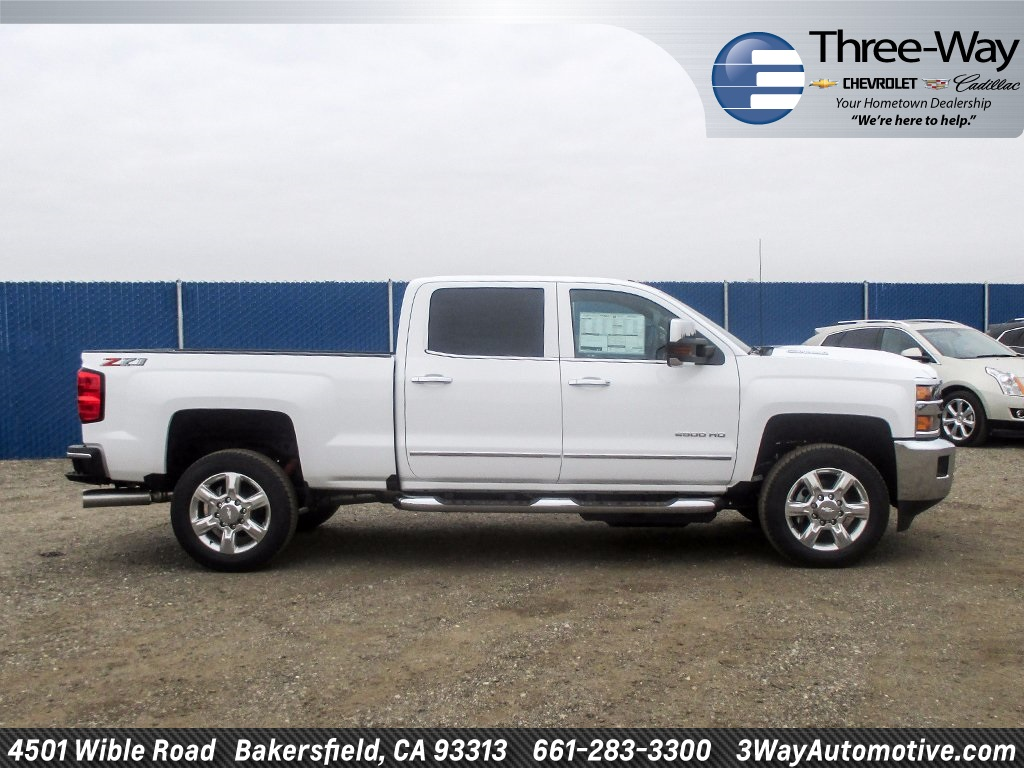 2018 Silverado 2500 Crew Cab 4x4 Pickup #914598K - photo 5