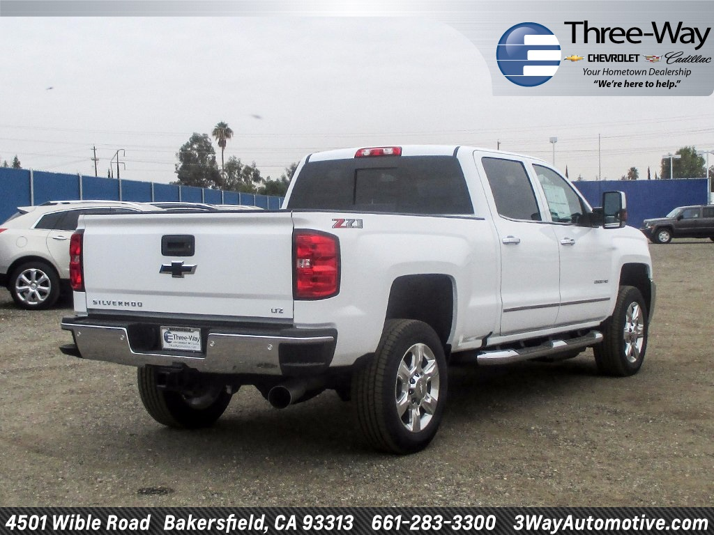 2018 Silverado 2500 Crew Cab 4x4 Pickup #914598K - photo 2