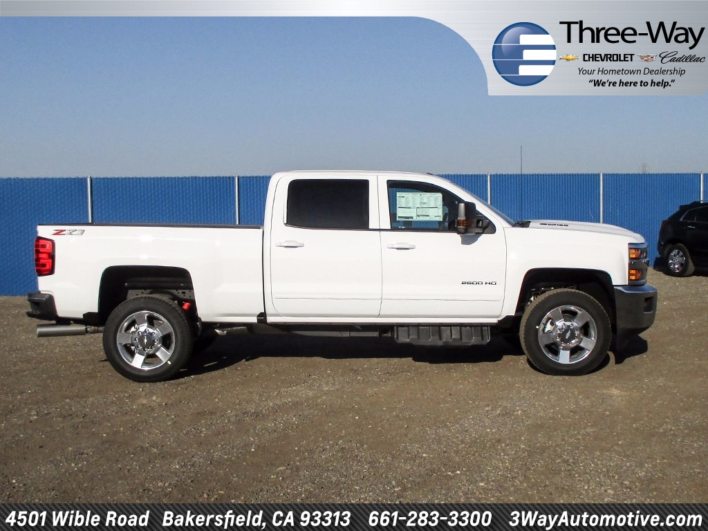2018 Silverado 2500 Crew Cab 4x4 Pickup #914656K - photo 5