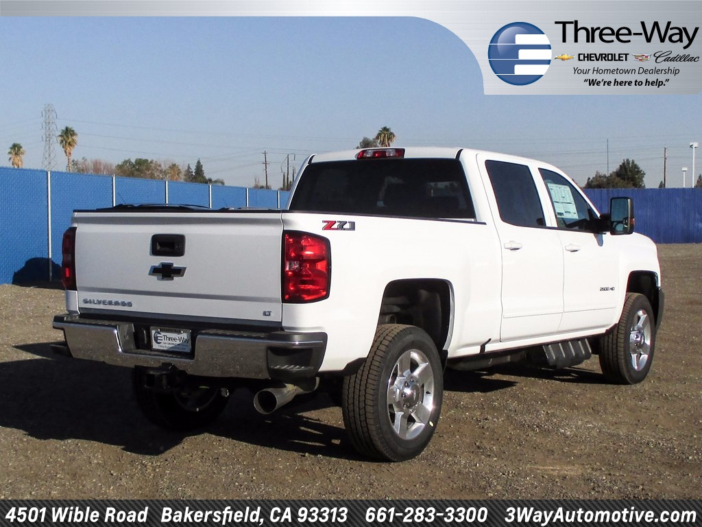 2018 Silverado 2500 Crew Cab 4x4 Pickup #914656K - photo 2
