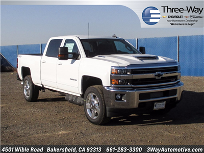 2018 Silverado 2500 Crew Cab 4x4 Pickup #914656K - photo 1